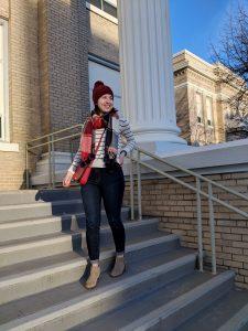 stylish Denver fashion blogger