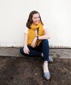 navy white and yellow casual outfit