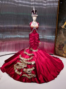 royalty inspired Dior gown