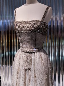 vintage beaded Dior dress