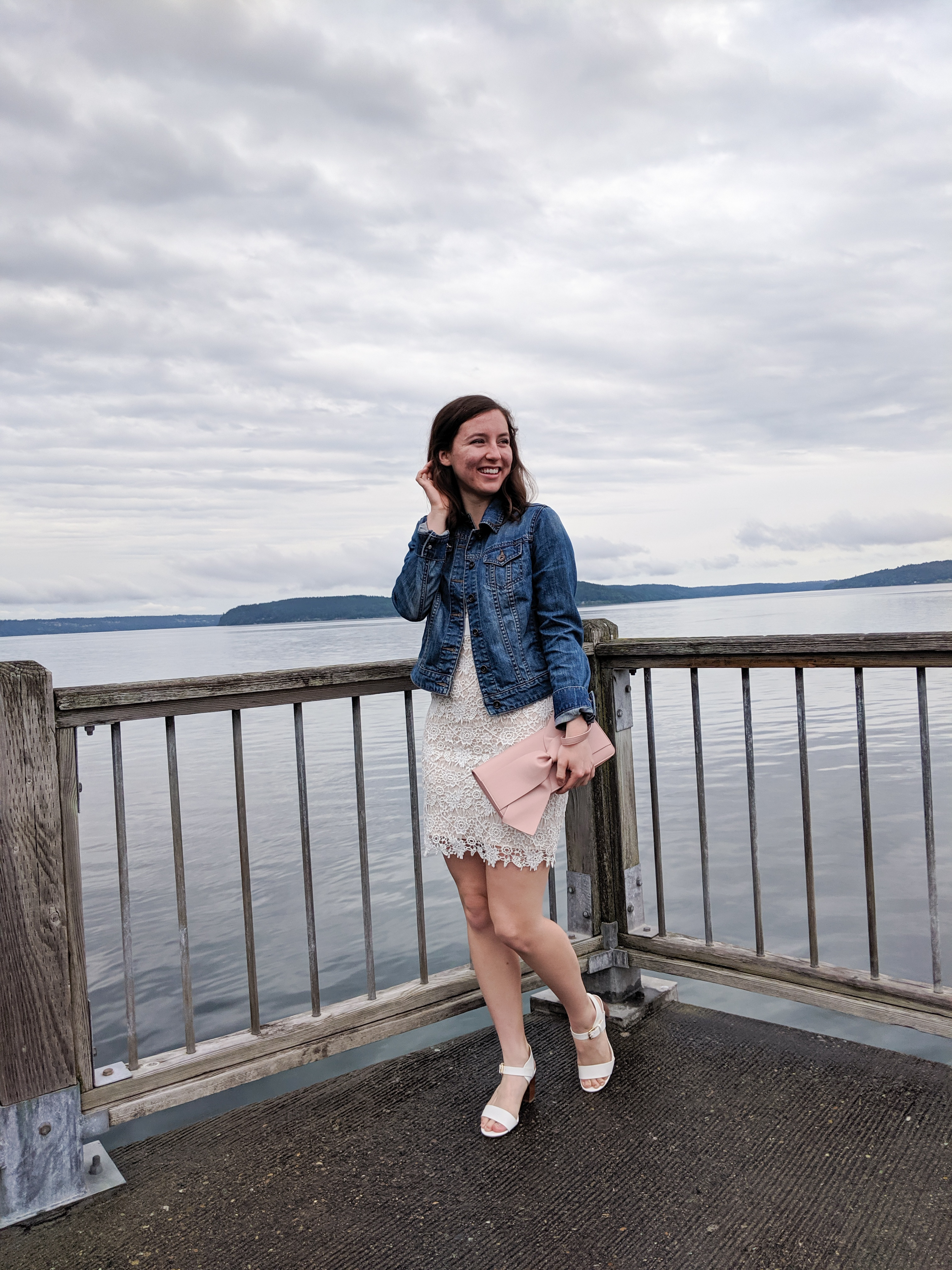 Puget Sound, fancy outfit, graduation outfit