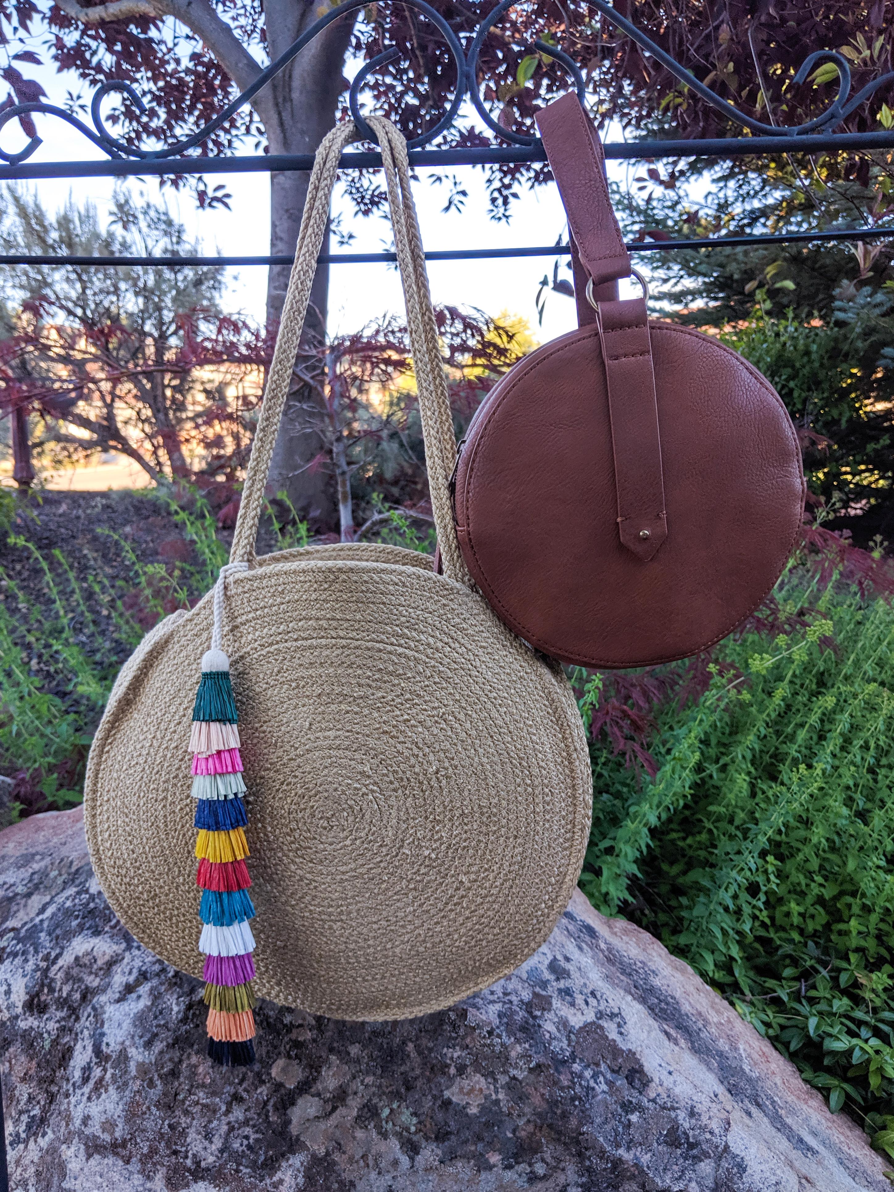 circle purses, tassel purse, Target