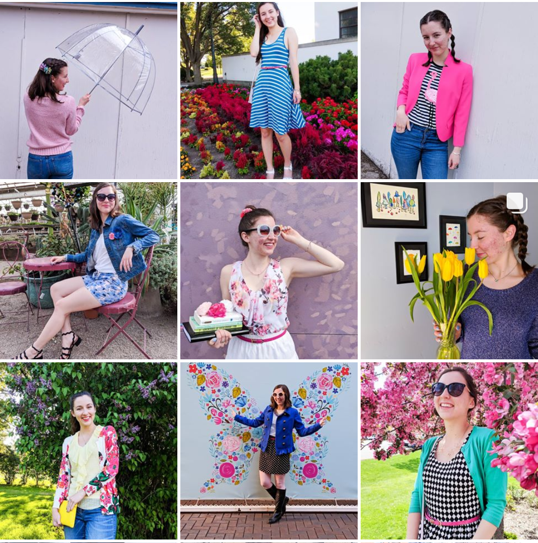 Social media, fashion blogger, Instagram