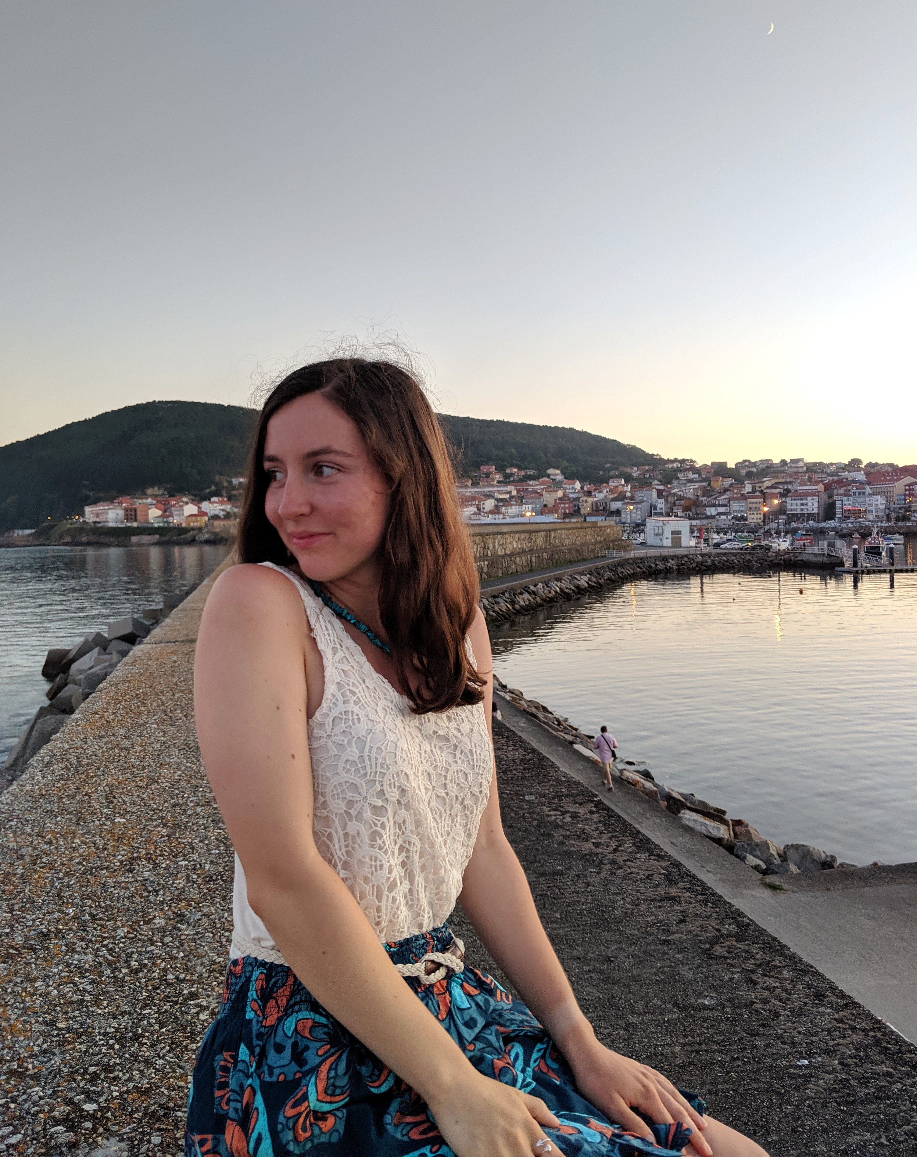 Finisterre, Spanish Coast, summer outfit, summer travels, summer style