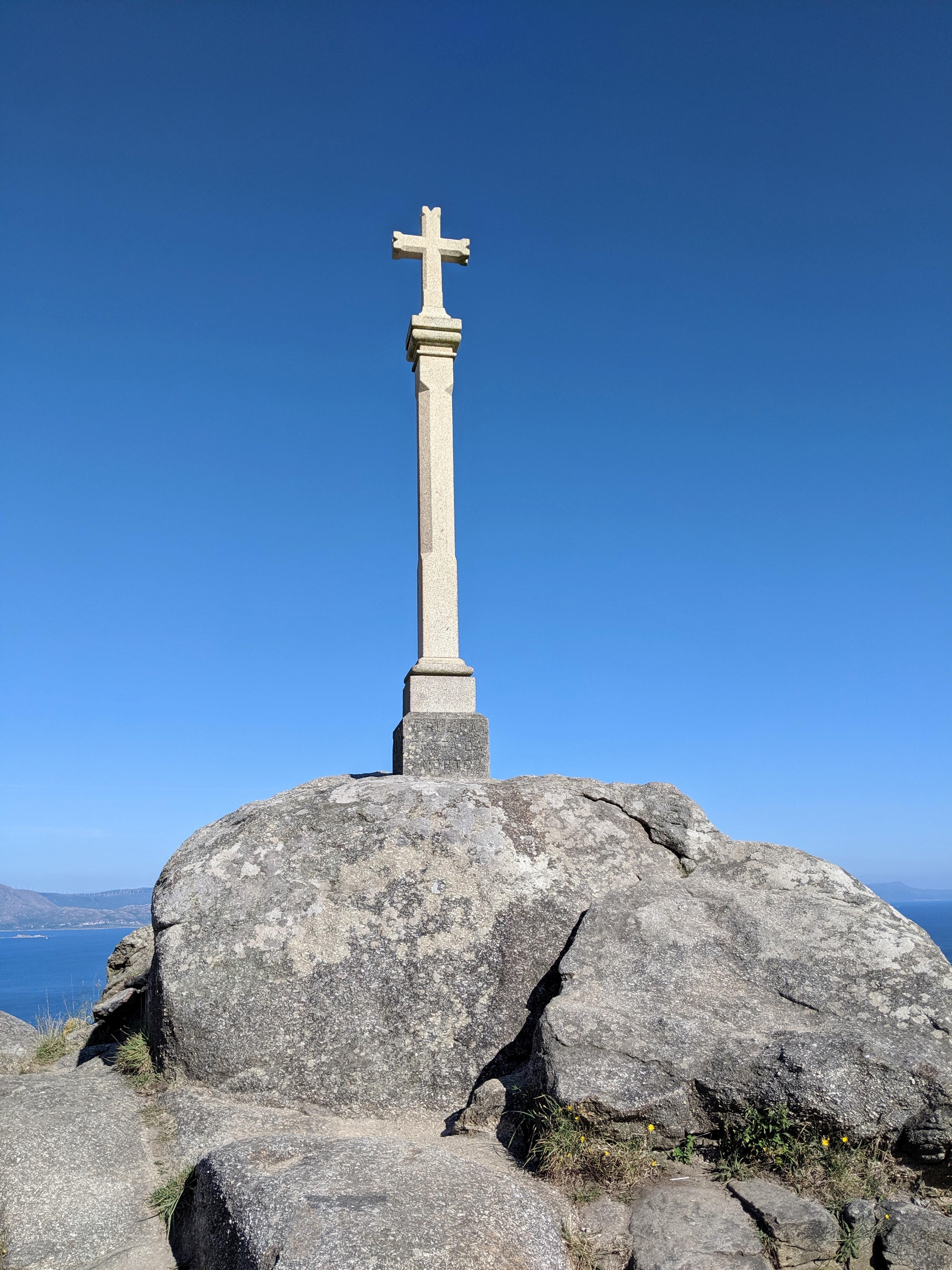 Muxia, Death Coast, Spanish coast, cross, El Camino de Santiago