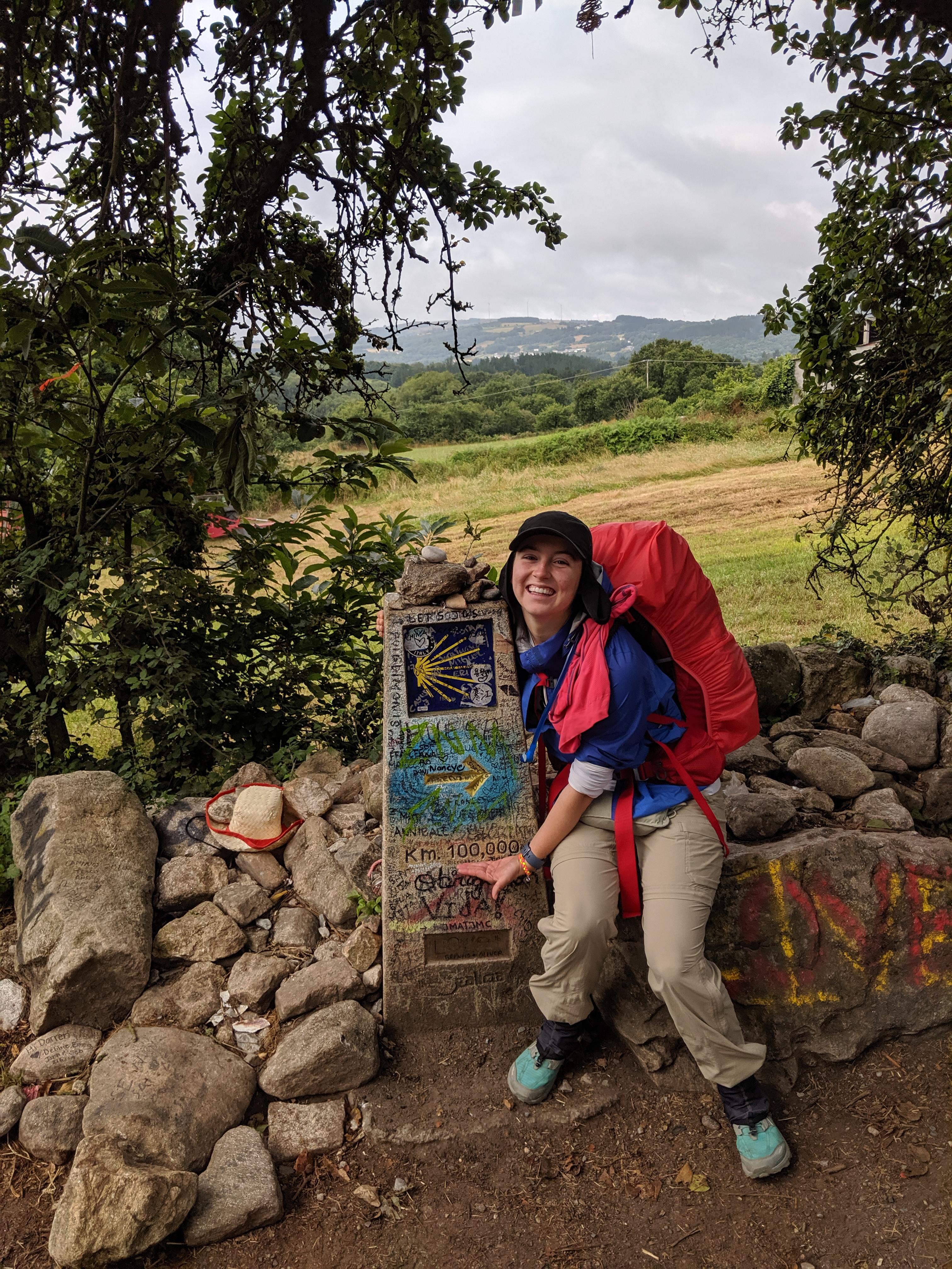 way-markers, pilgrimage, Santiago de Compostela