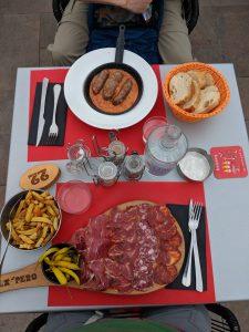 Spanish food, jamon iberico, Basque Country