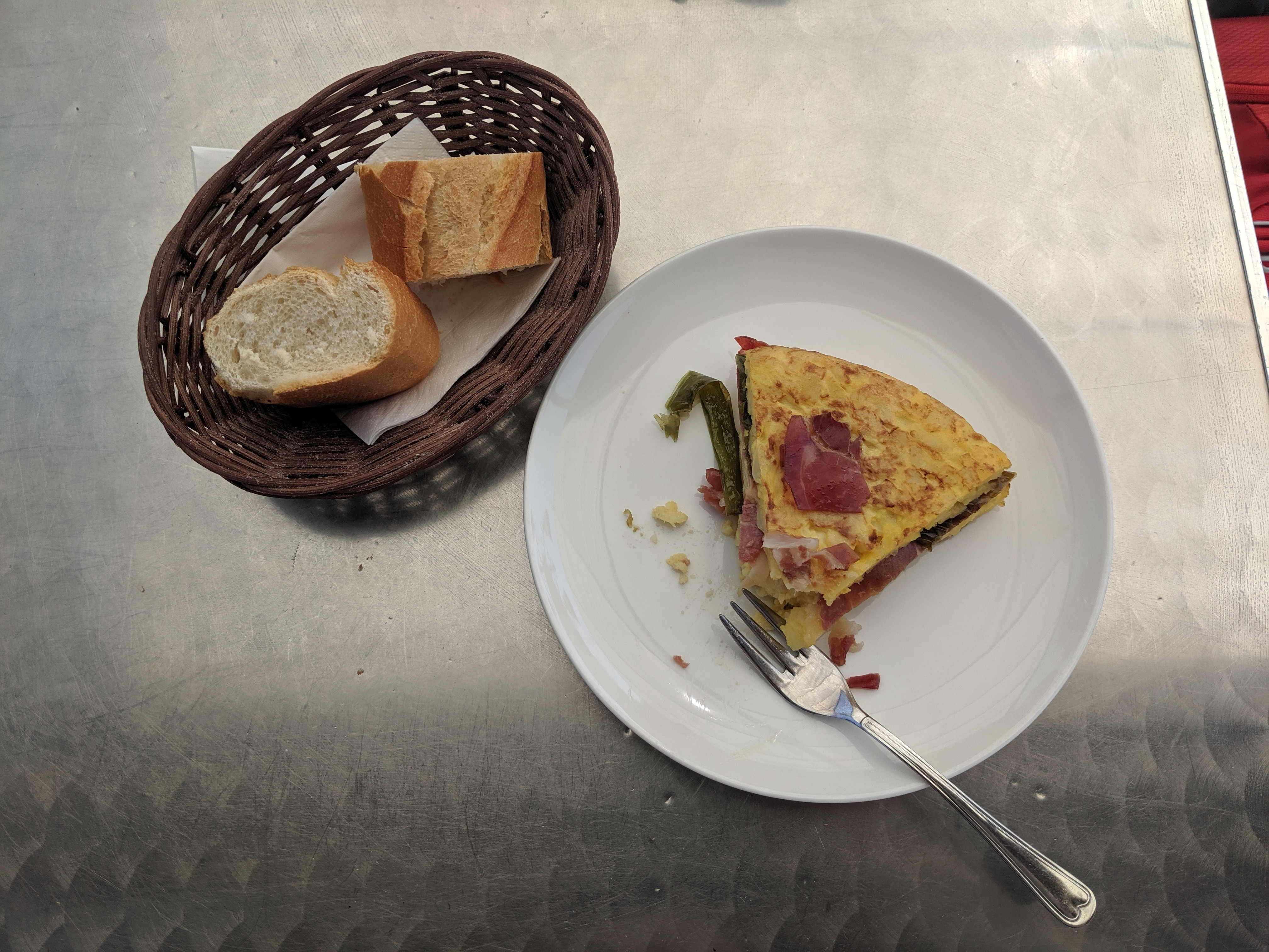 Spanish tortilla, Spanish food