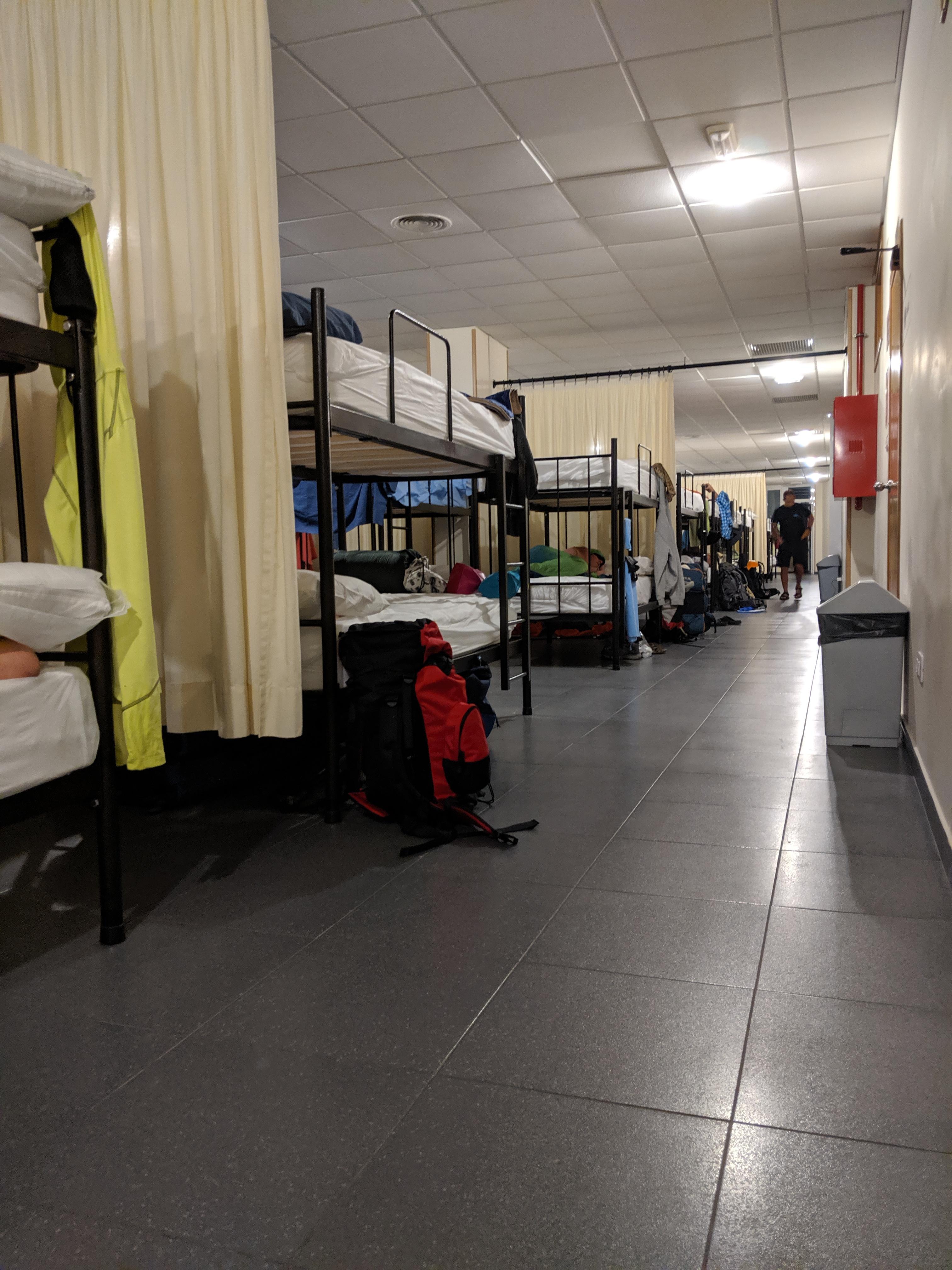 hostels, albuergues, el camino