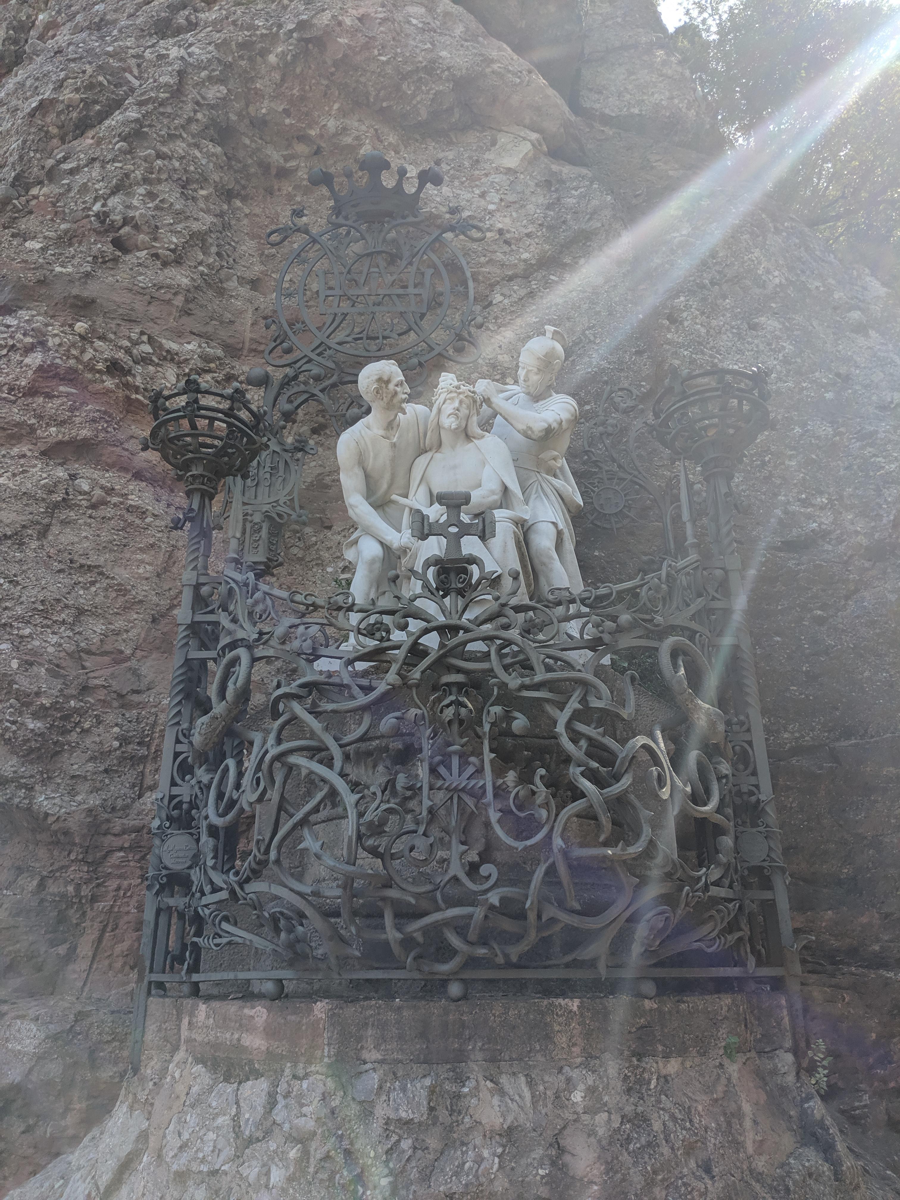 religious, spiritual, Montserrat, statues