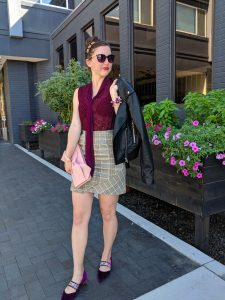 fashion week outfit, street style, New York fashion