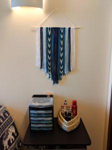 hand-made dorm room decorations