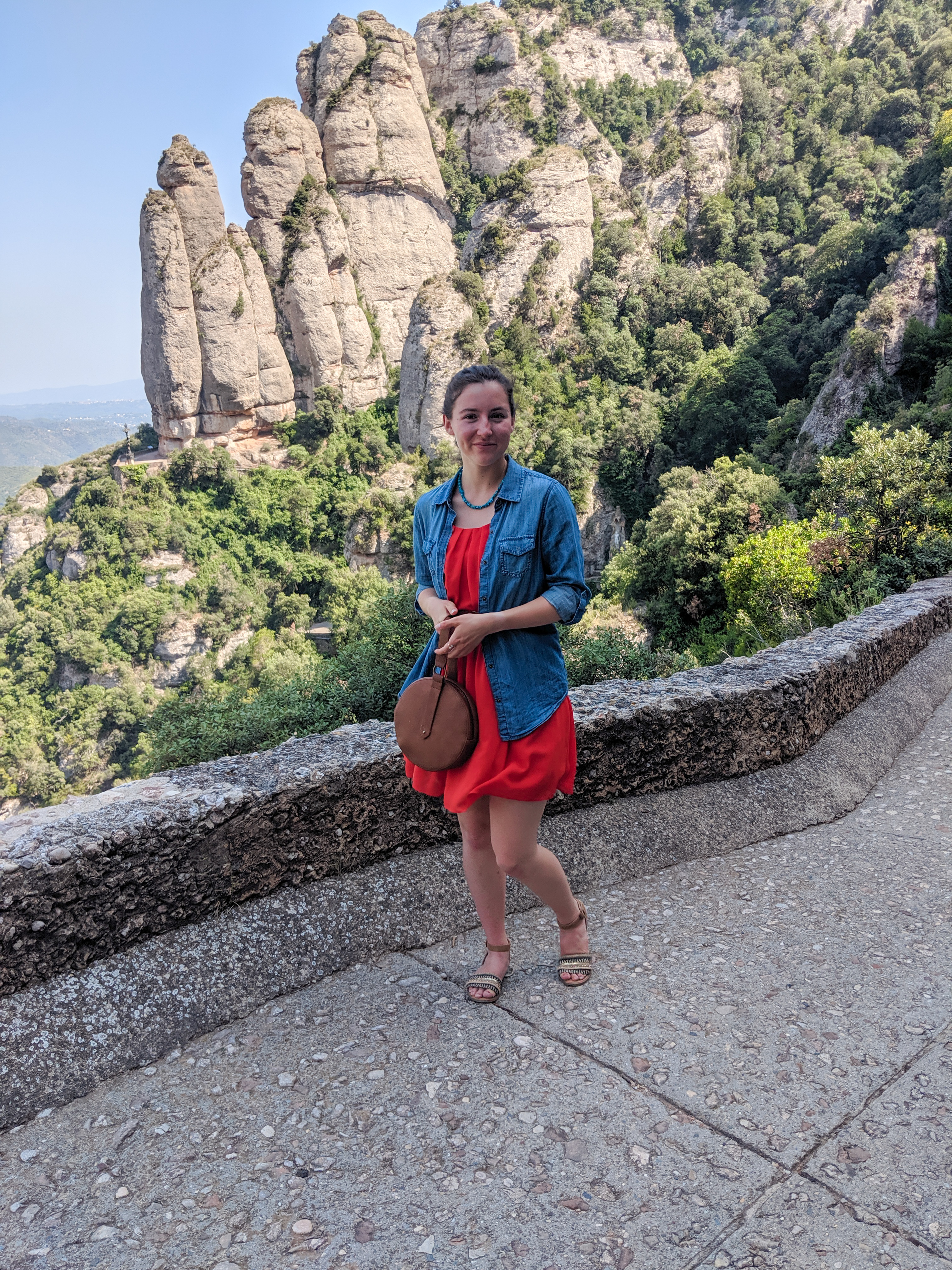 mountain range, Barcelona, hiking, Spain