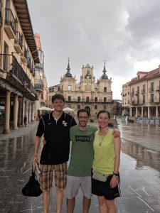 friends, Astorga, Spain, Castilla y Leon