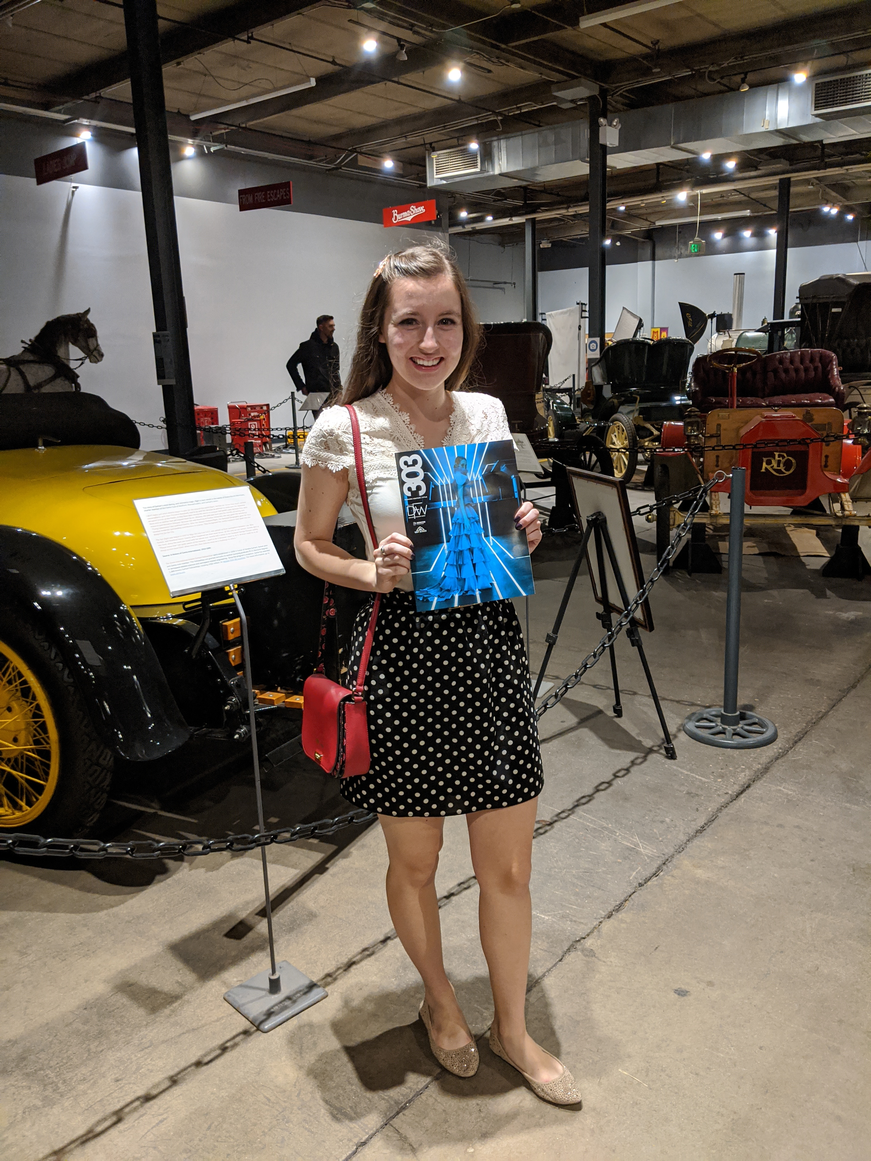 Denver fashion blogger, Denver Fashion Week, Forney Museum of Transportation