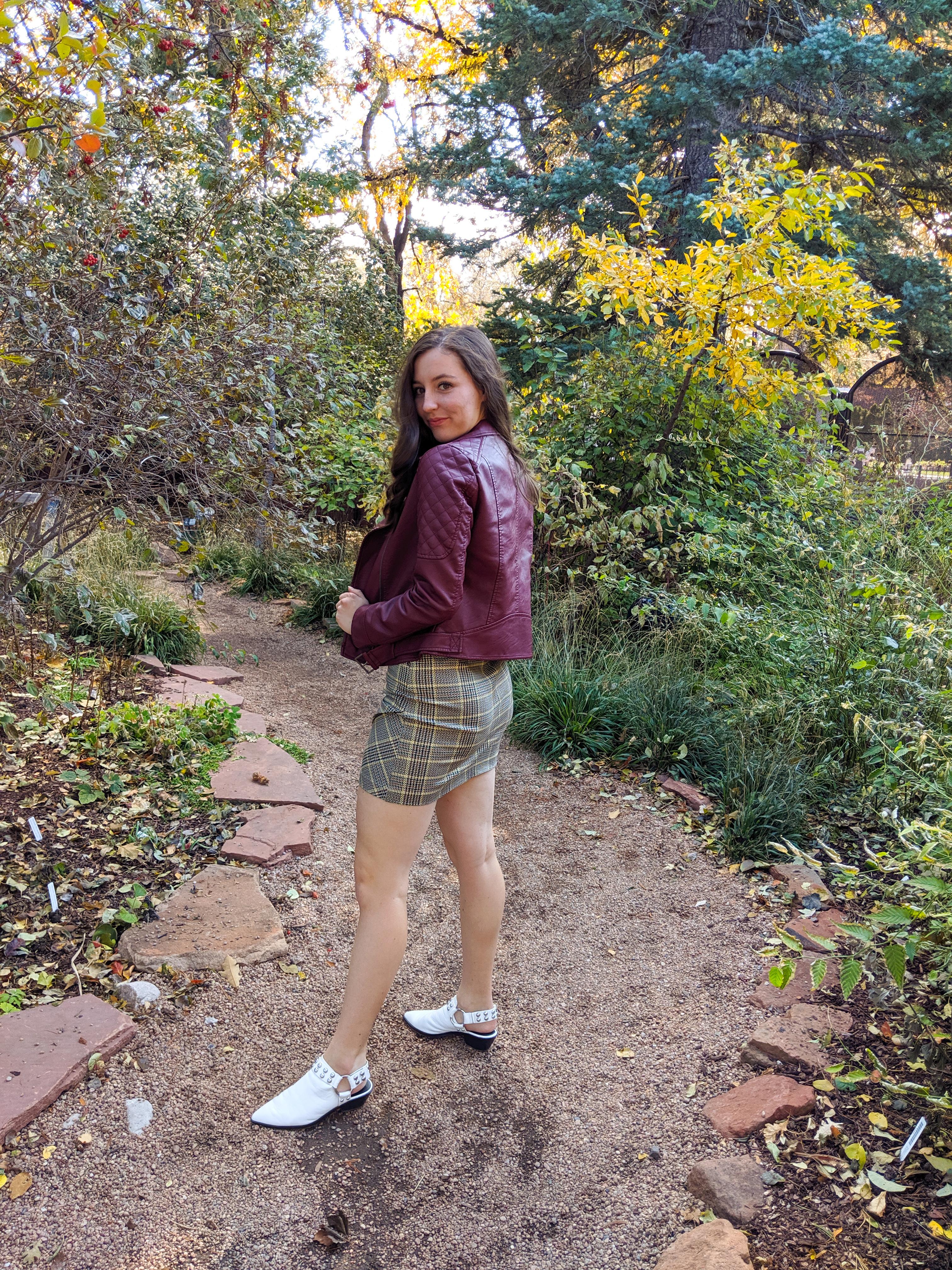 fall fashion, Denver fashion blogger, Denver Botanic Gardens