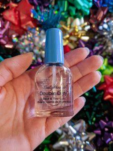 Sally Hansen, nail polish, Christmas nail tutorial