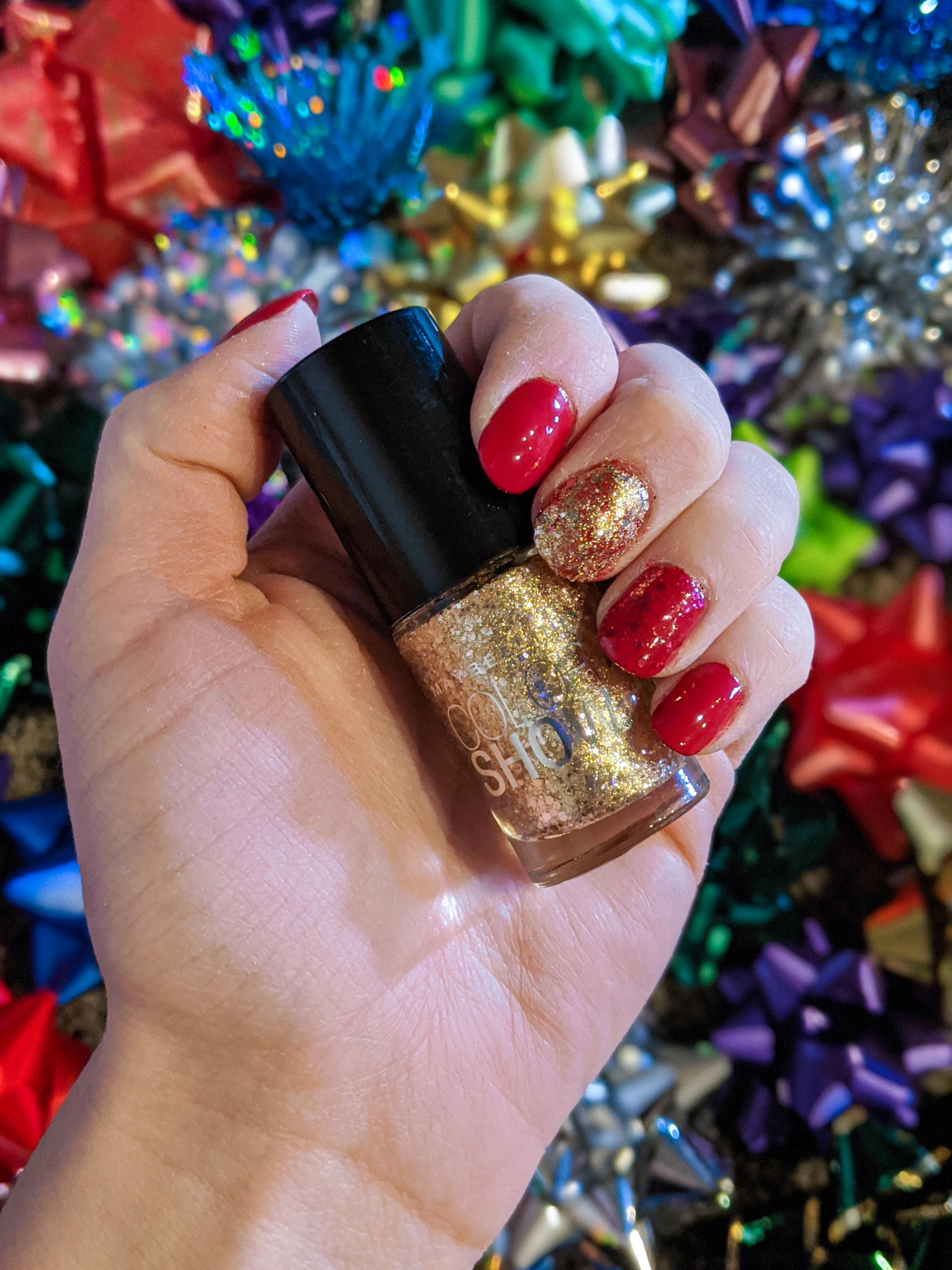 gold nail polish, Maybelline New York