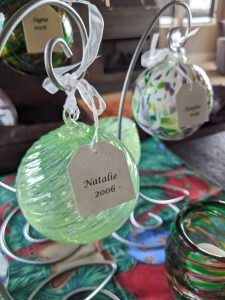 Christmas ornaments, gifts that give back