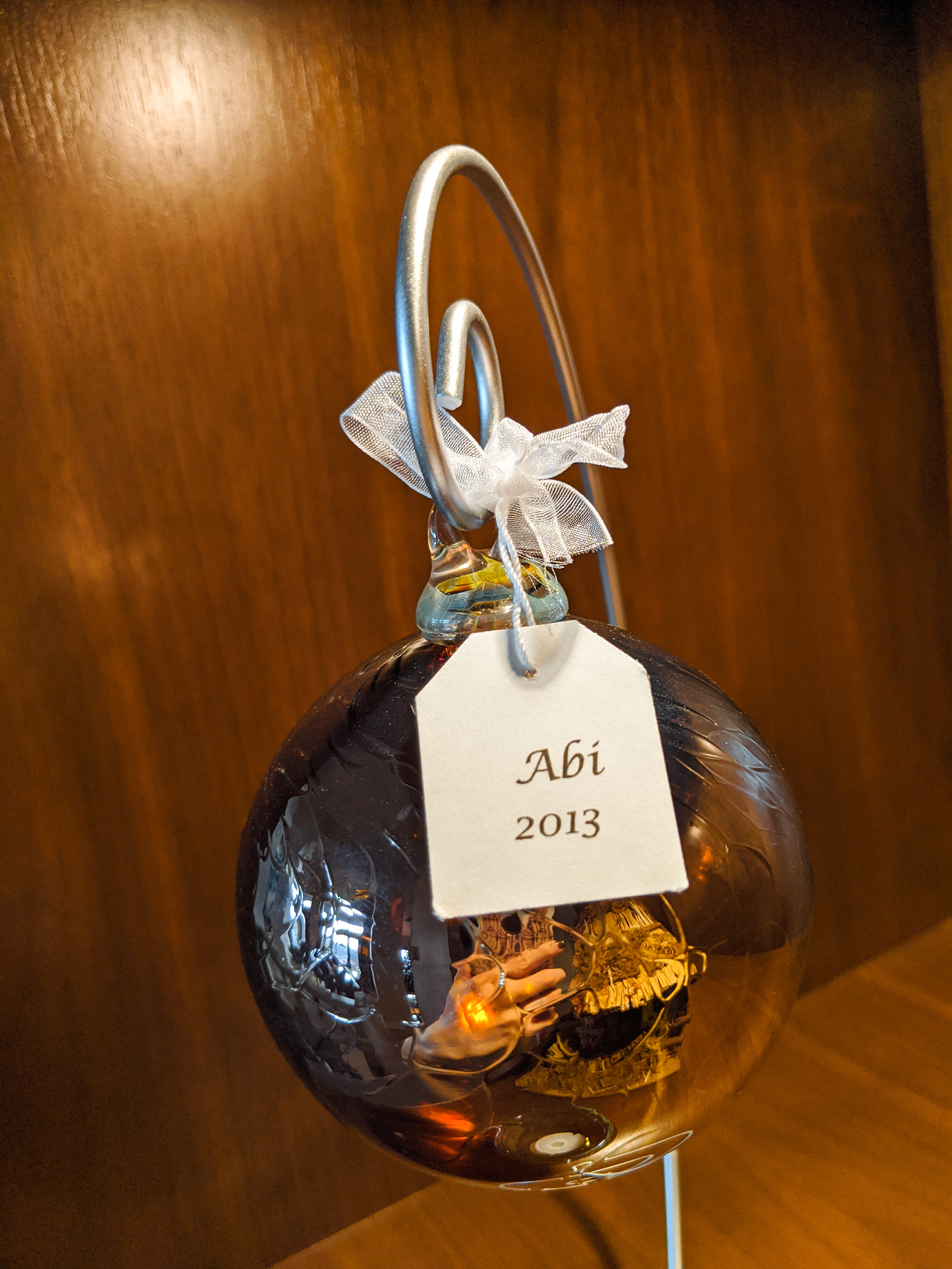 gold glass ornaments, Christmas ornaments