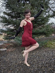Charleston, fringe dress, 20s, new decade, flapper outfit