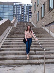 rose gold sparkles, Denver blogger, affordable fashion, self-love