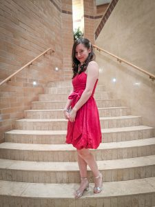 red dress, bow dress, Valentine's Day activities
