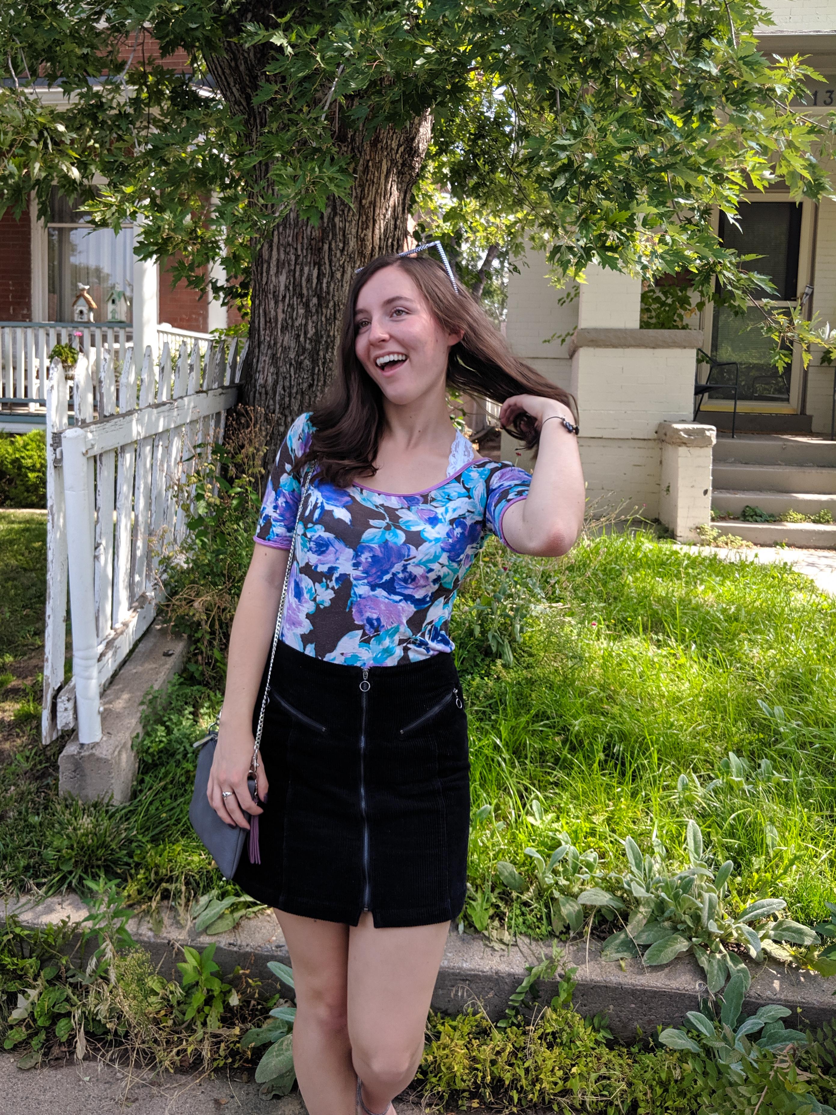 college student, midterm exams, Denver fashion blogger