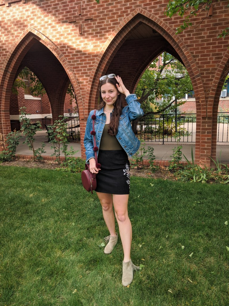 suede-skirt-fall-outfit-fall-style-jean-jacket
