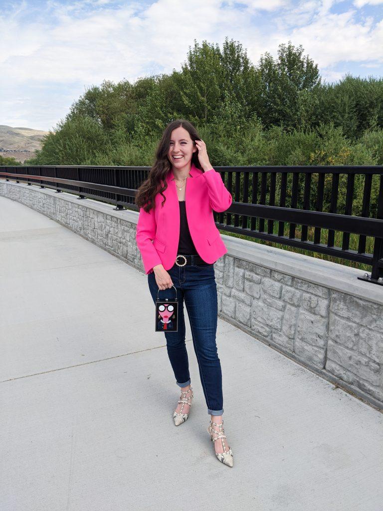 pink-blazer-valentino-rockstuds-affordable-fashion