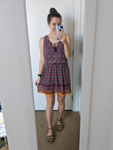 burgundy-dress-JCPenney-affordable-style-college-fashion