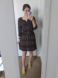 brown-dress-charming-charlie-yellow-shoes-soul-society