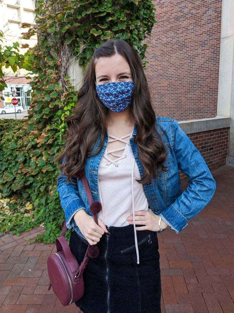mask-fashion-etsy-jean-jacket-fall-style