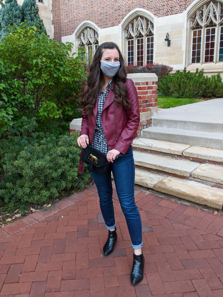 mask-fashion-lulu-lemon-burgundy-jacket