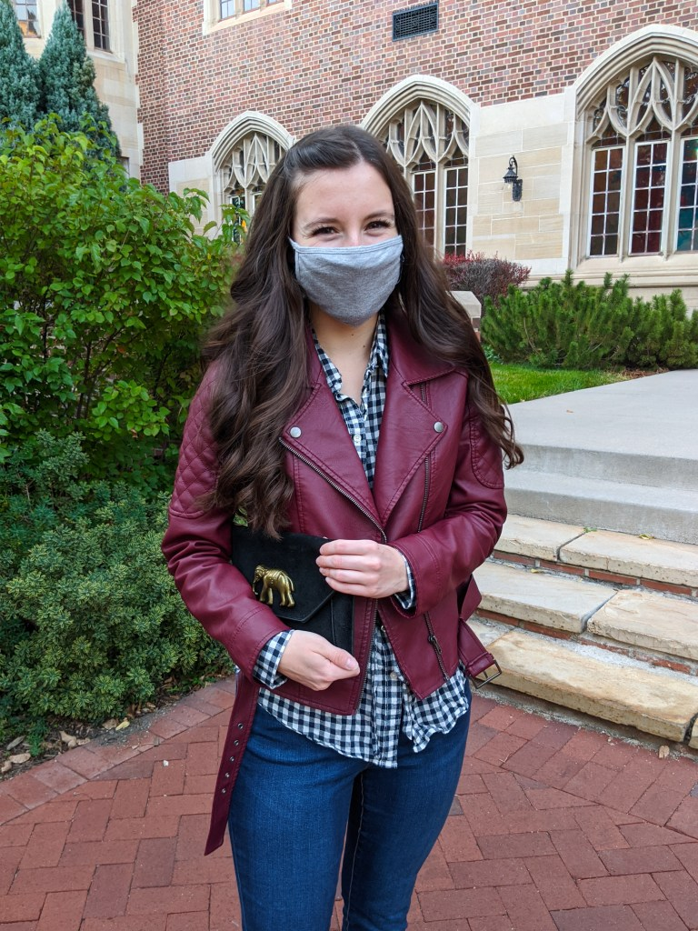 burgundy-jacket-mask-fashion-fall-style
