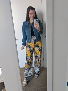 floral-pants-printed-palazzo-jean-jacket-college-style