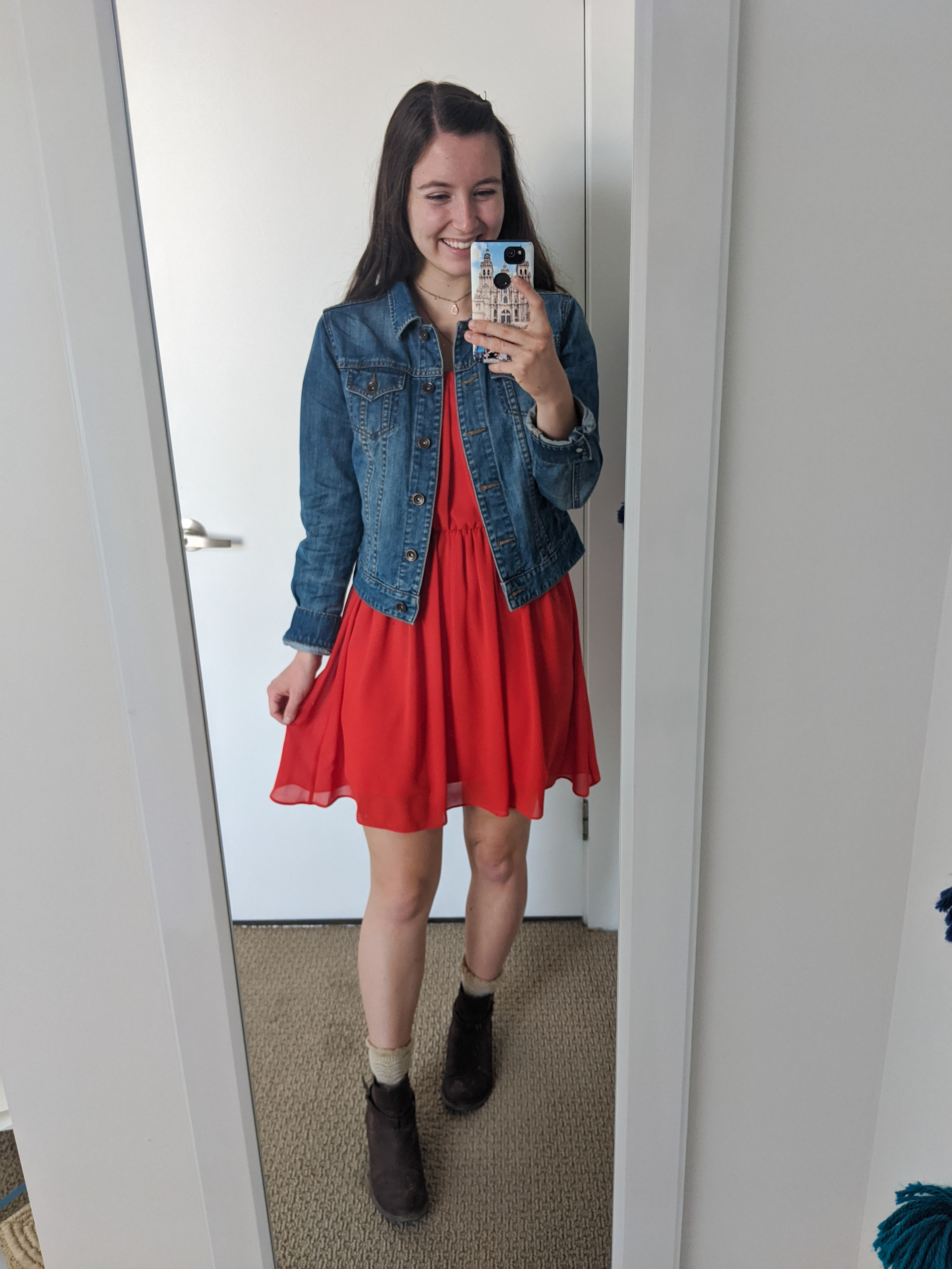 orange-dress-ootd-college-style-fall-outfit
