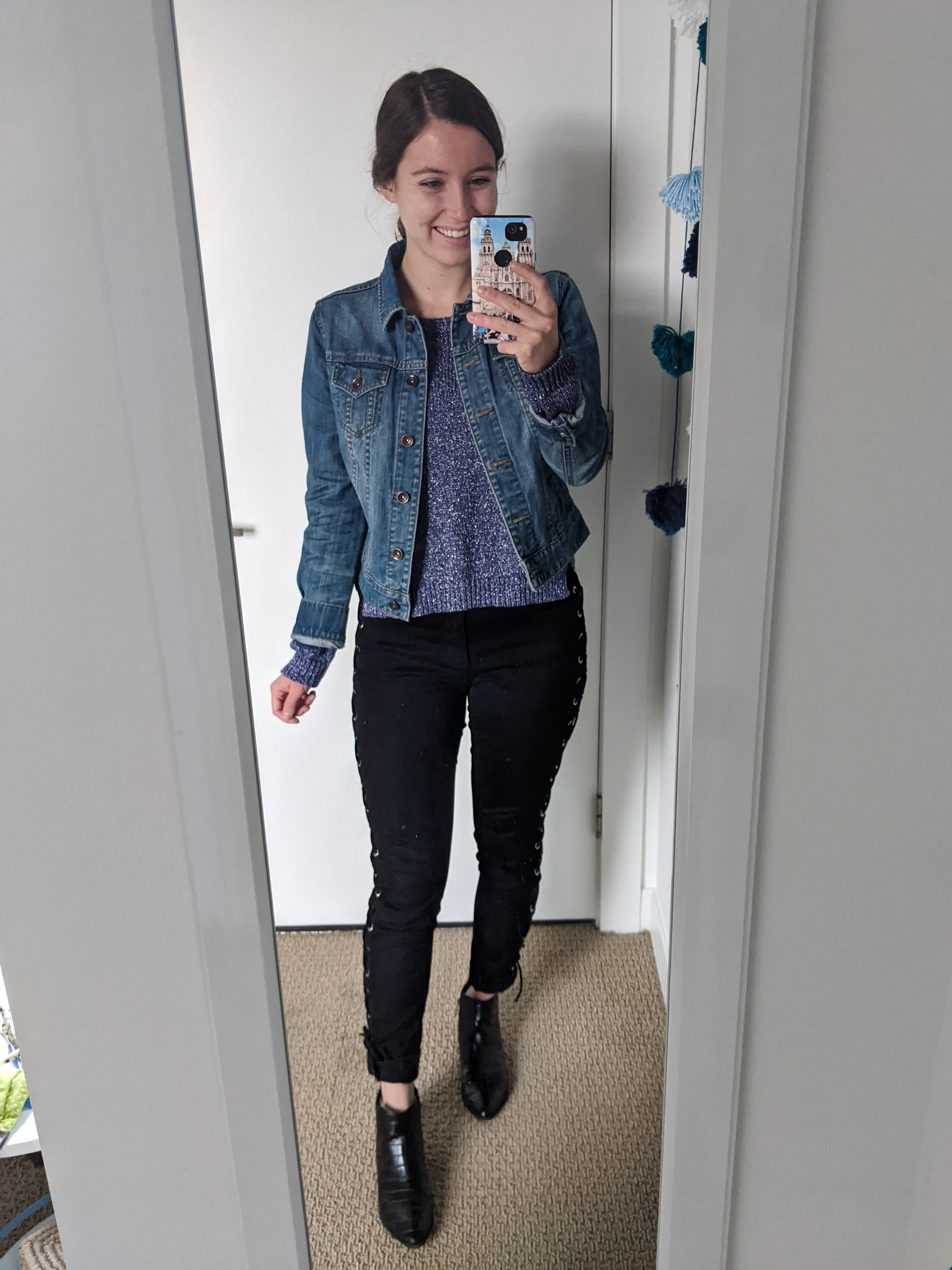 hand-me-down-thrifted-laceup-pants-purple-sweater