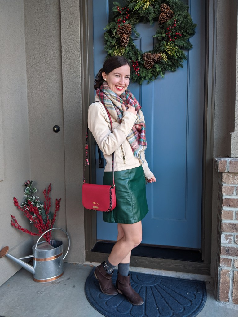 holiday-bucket-list-christmas-outfit-red-kate-spade-purse