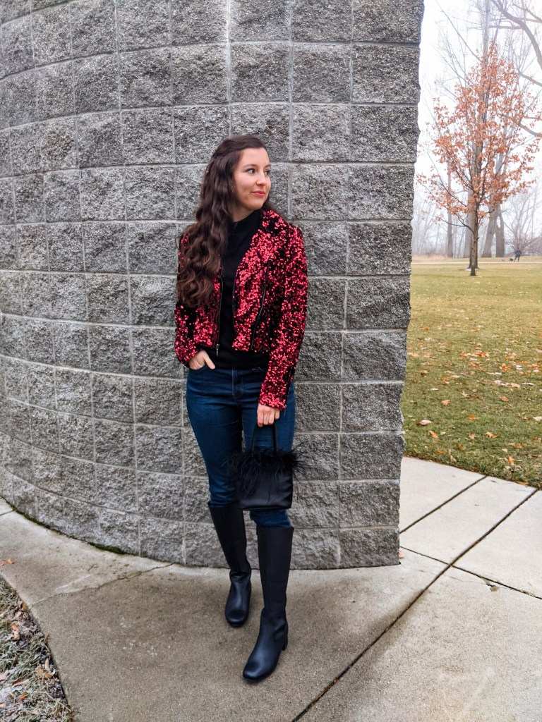 red-sequin-jacket-WHBM-date-night-NYE