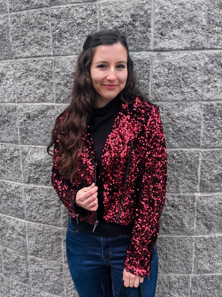 red-sequin-jacket-NYE-outfit-going-out