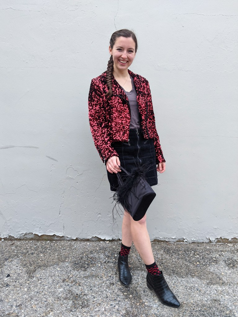 red-sequin-jacket-white-house-black-market-black-booties