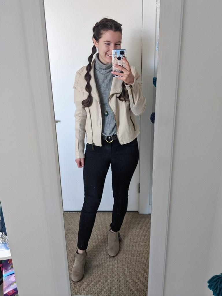 grey-turtleneck-neutrals-beige-jacket-black-pants