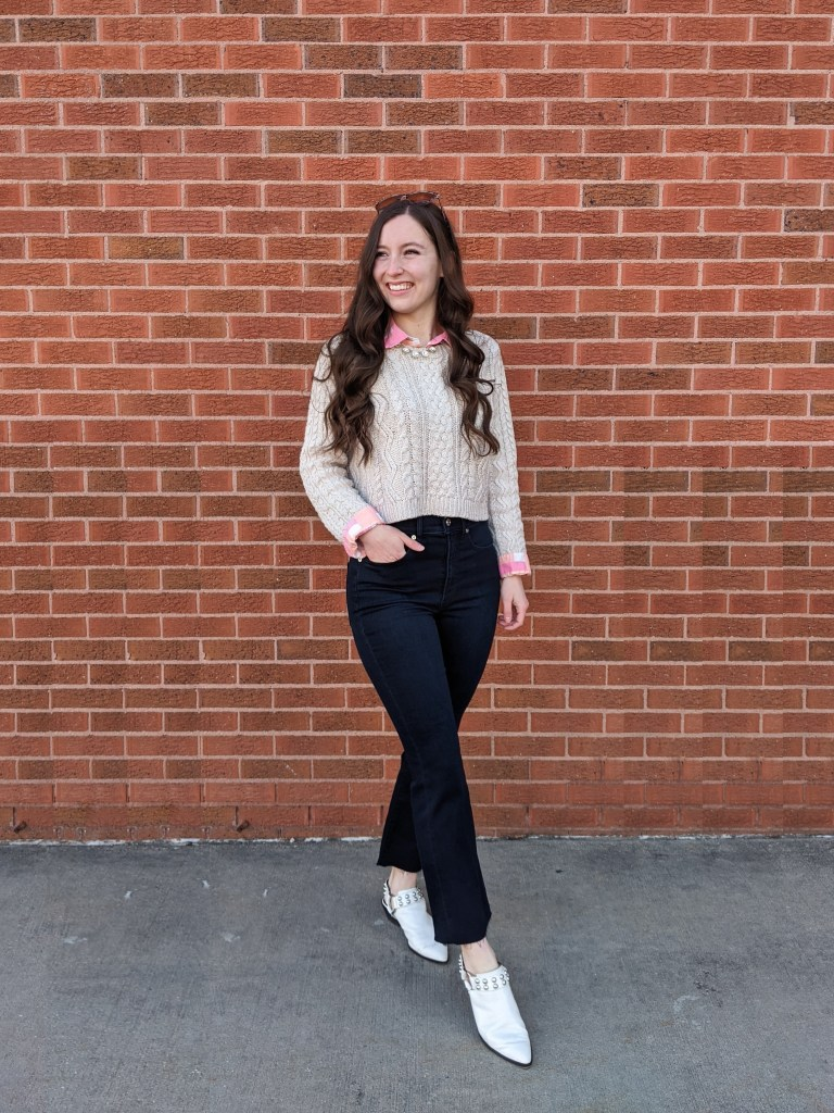 spring-layers-preppy-transitional-outfit-white-mules