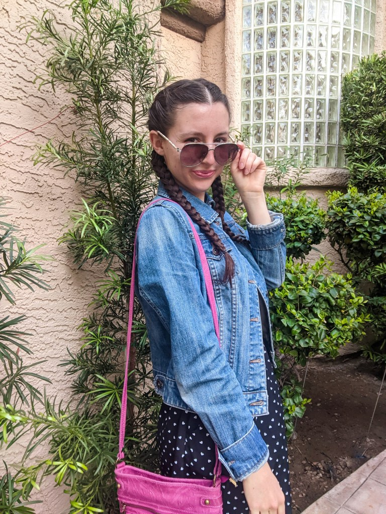 jean-jacket-spring-outfit-aviators-french-braids