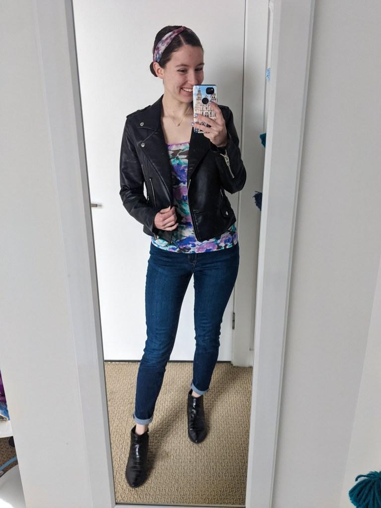 floral-tee-black-leather-jacket-skinny-jeans-black-booties