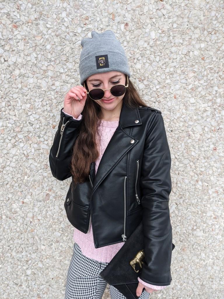 leather-jacket-grey-beanie-round-sunglasses