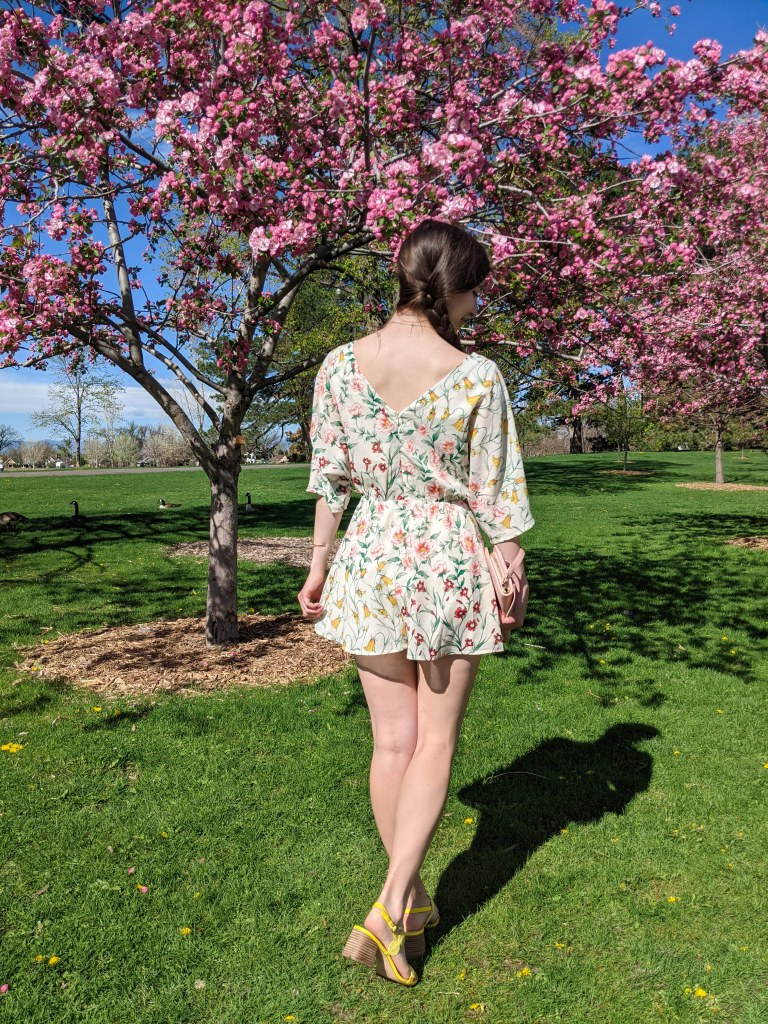 floral-thrifted-romper-side-braid-spring-outfit
