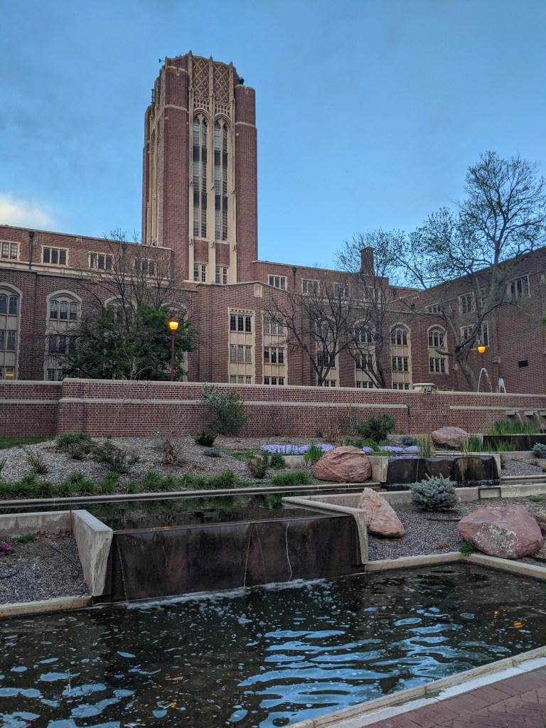 university-of-denver-college-blogger-campus-springtime