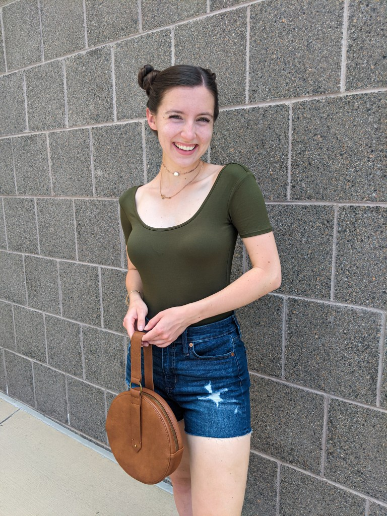 denim-shorts-francescas-olive-bodysuit-summer-style
